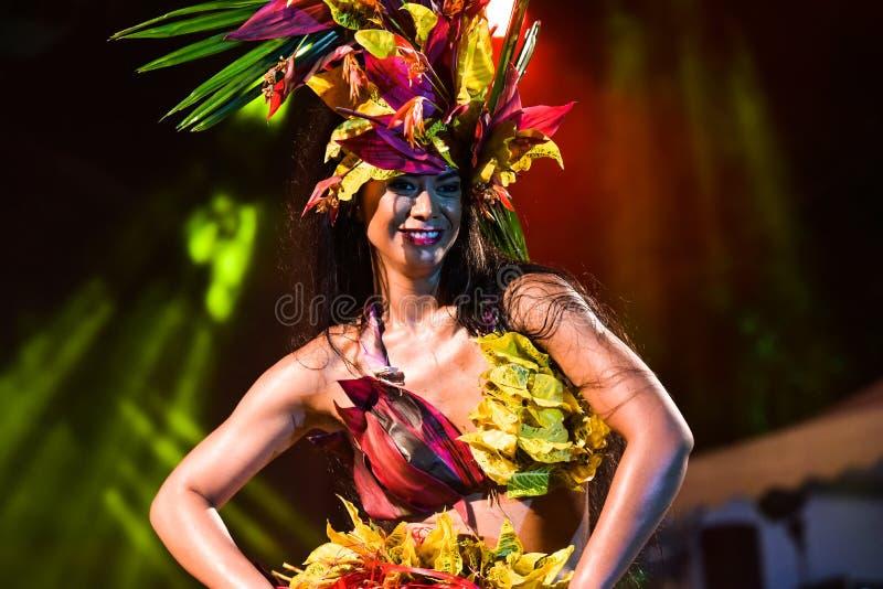 Dansare från Haiti royaltyfri foto
