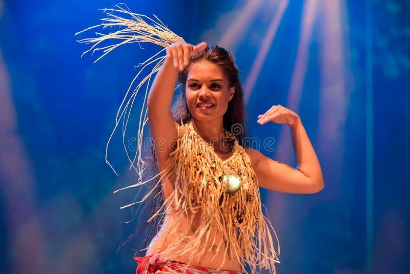 Dansare från Haiti royaltyfri fotografi