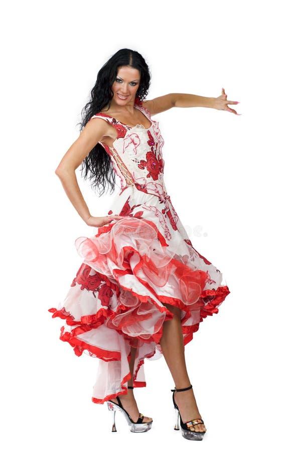 dansare latina fotografering för bildbyråer