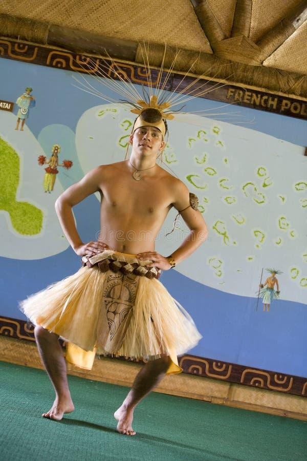 dansare tahiti royaltyfri fotografi