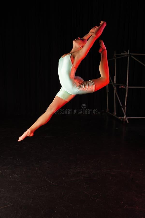 dansareetapp royaltyfri bild
