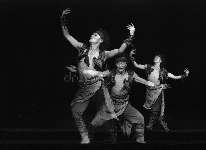 dansarefolk arkivbild