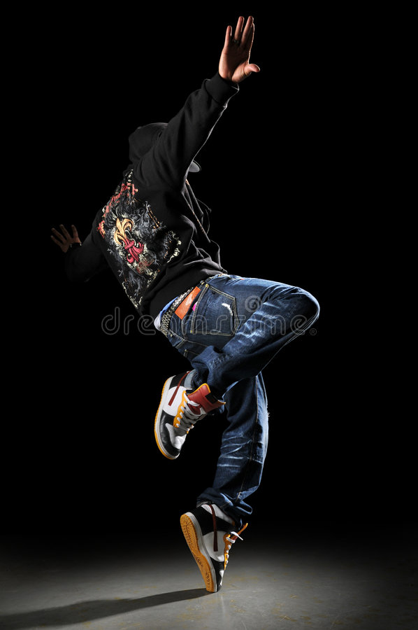 dansarehöftflygtur royaltyfri fotografi