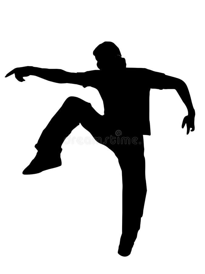 dansarehatt stock illustrationer