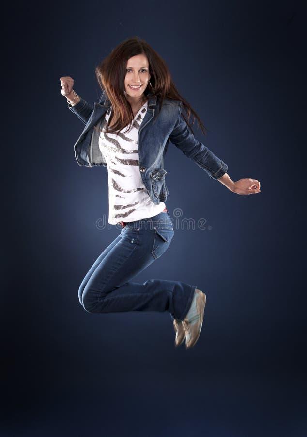 dansarehopp arkivfoto