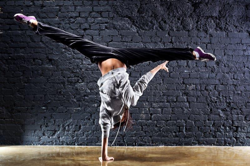 dansarekvinnabarn royaltyfri fotografi