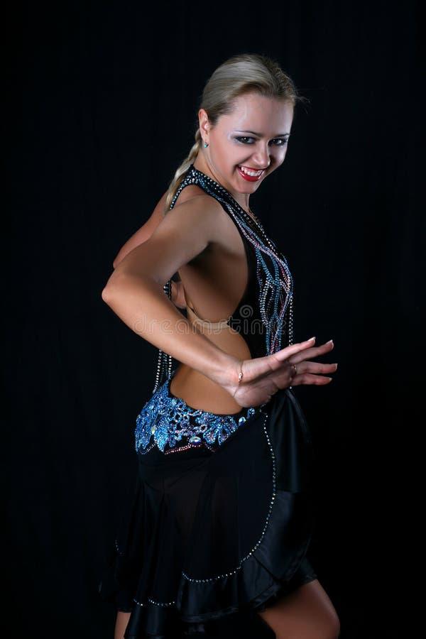 dansarelatin royaltyfri bild