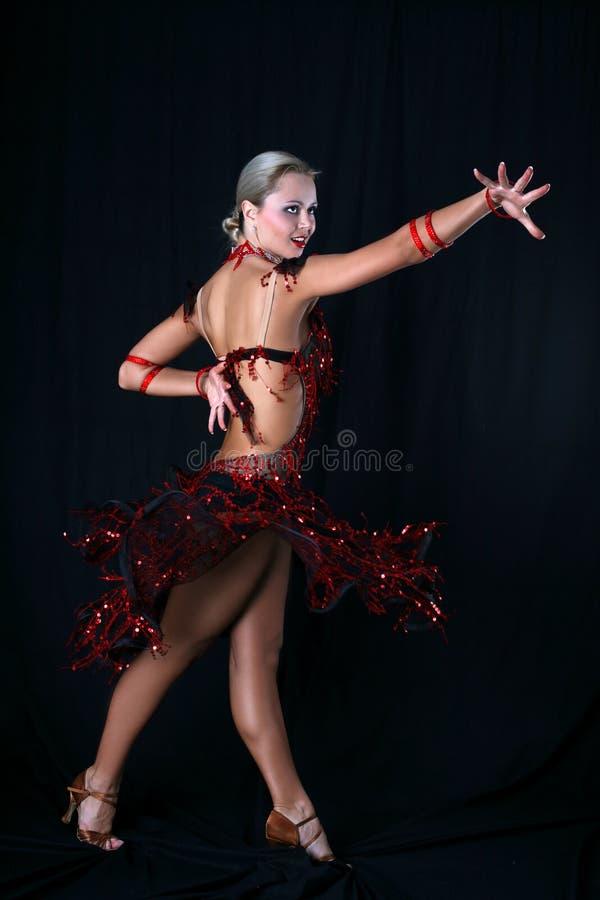 dansarelatin arkivfoto