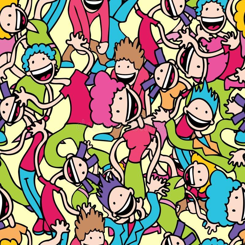 dansarewallpaper stock illustrationer