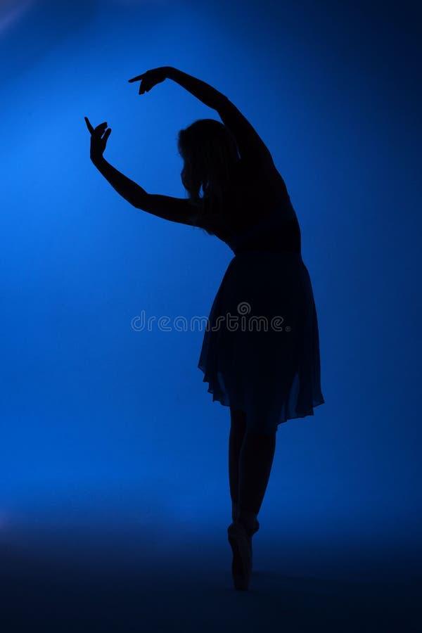 Dansballerinaflicka royaltyfria foton