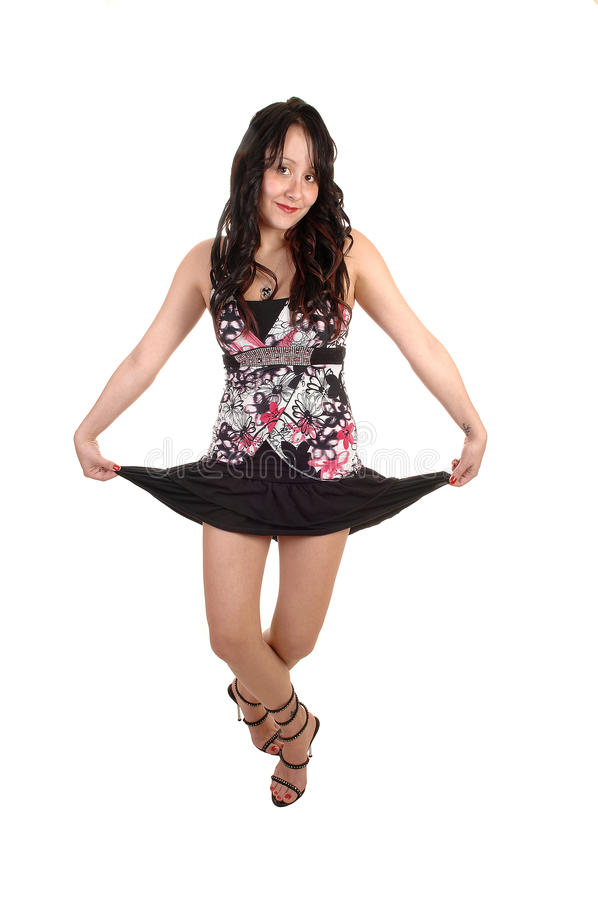 Dansbarnkvinna. arkivbild