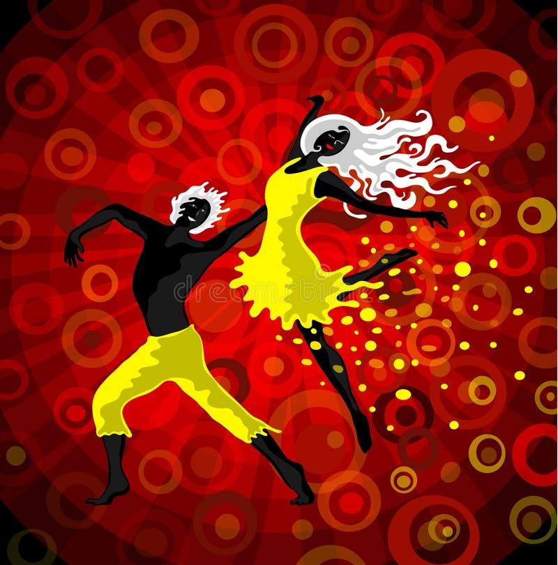 Danse illustration stock