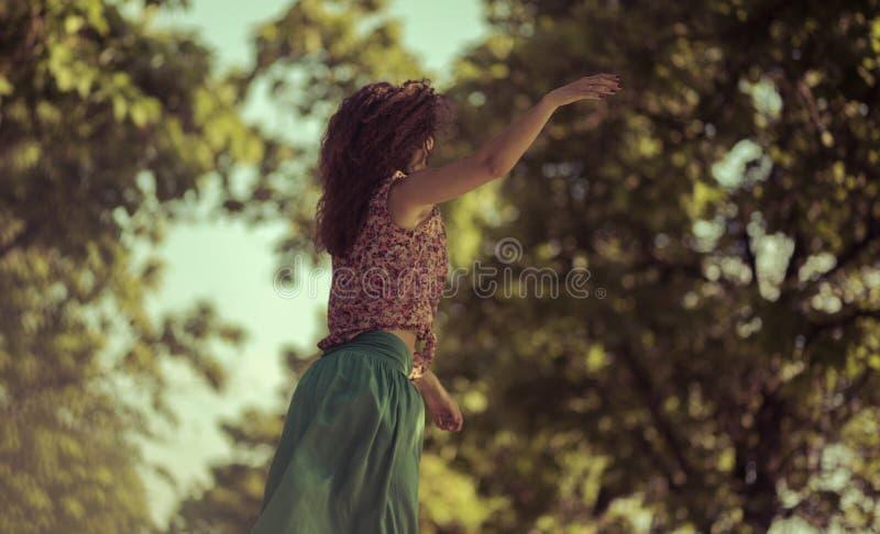 Danse avec la vie photographie stock