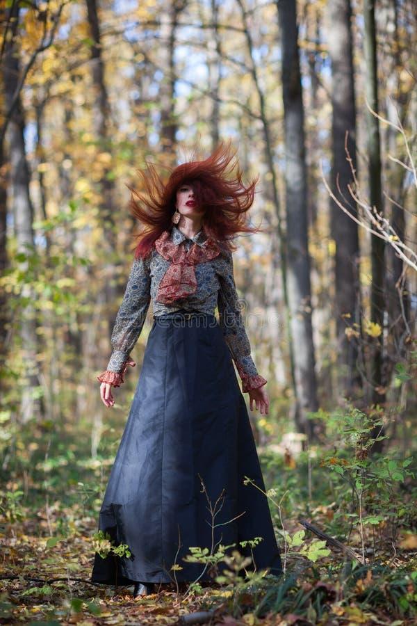Danse d'automne photographie stock