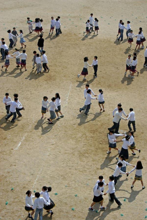 Danse d'enfants photos stock