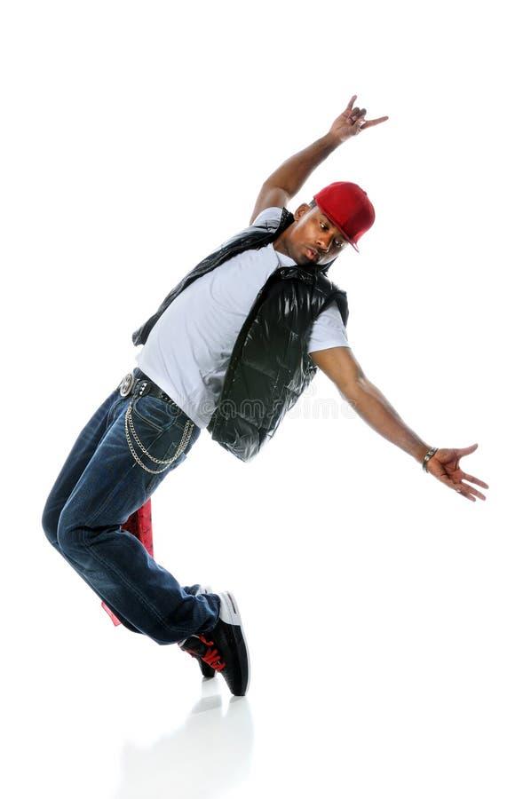 Danse d'homme de Hip Hop photographie stock