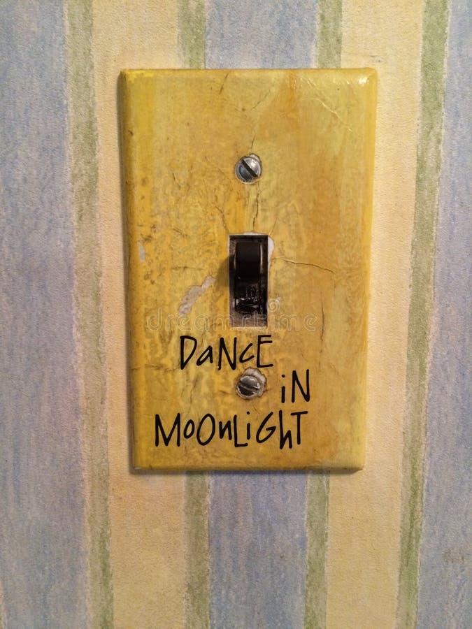 Danse dans le clair de lune images stock