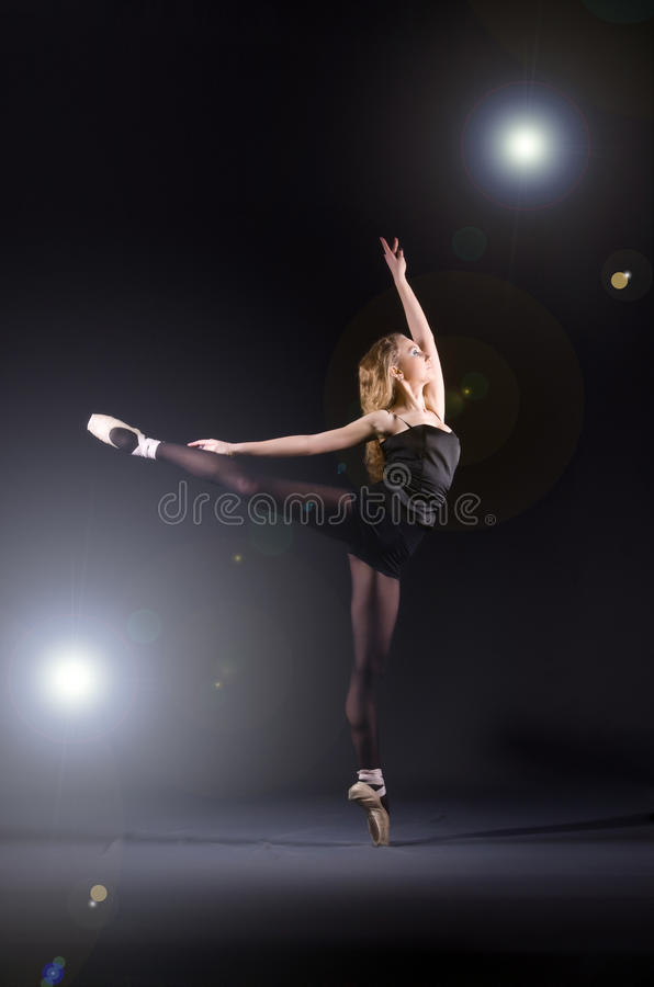Danse de ballerine images stock