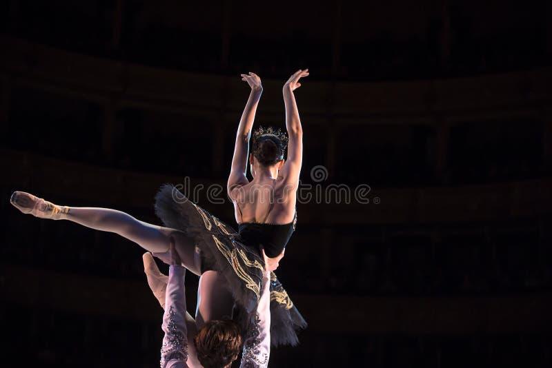 Danse de ballerine de Prima images stock