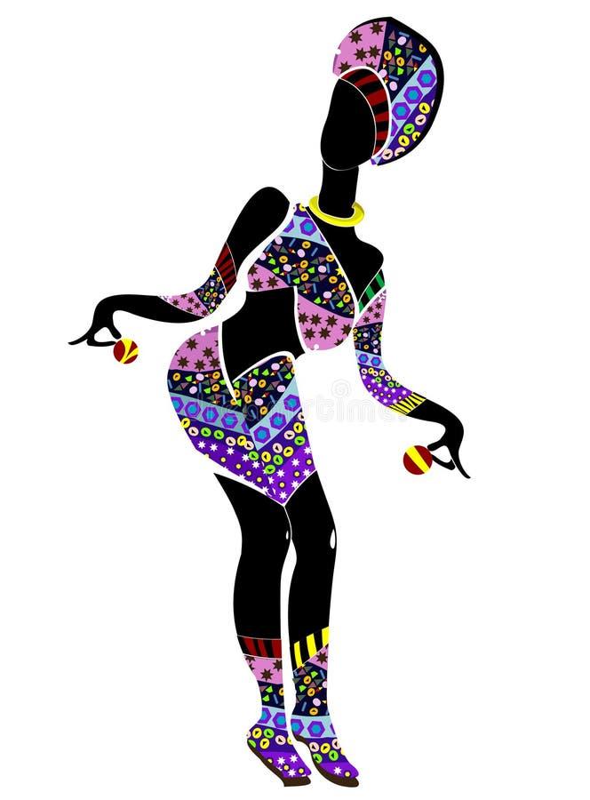 Danse de célébration illustration stock