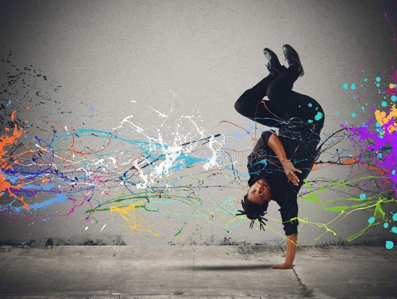 Danse de Capoeira image libre de droits