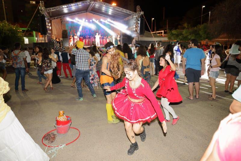 Danse de Capoeira et festival d'arts martiaux dans Petrolina Brésil photo libre de droits