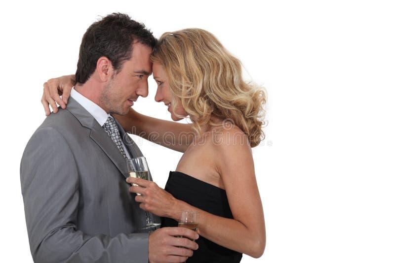 Danse de couples photographie stock