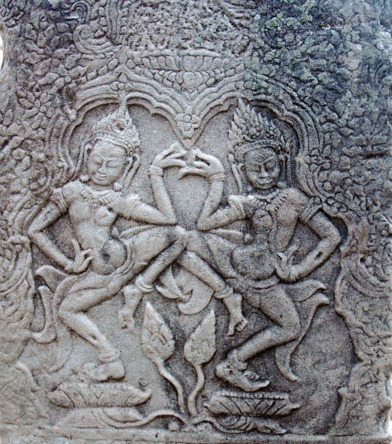 Danse de déesse images stock