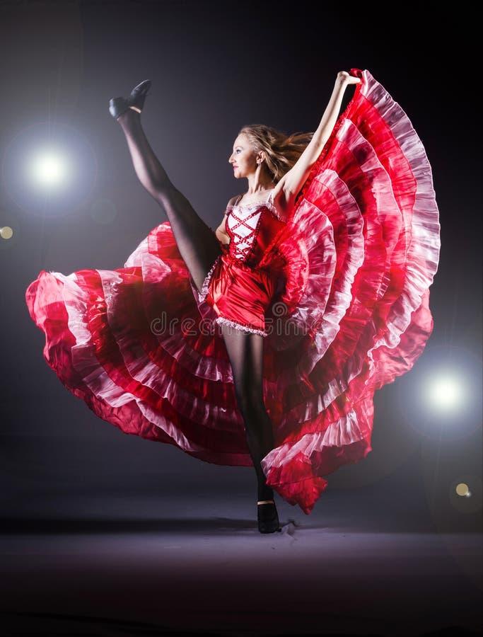 Danse de danse de fille photos libres de droits