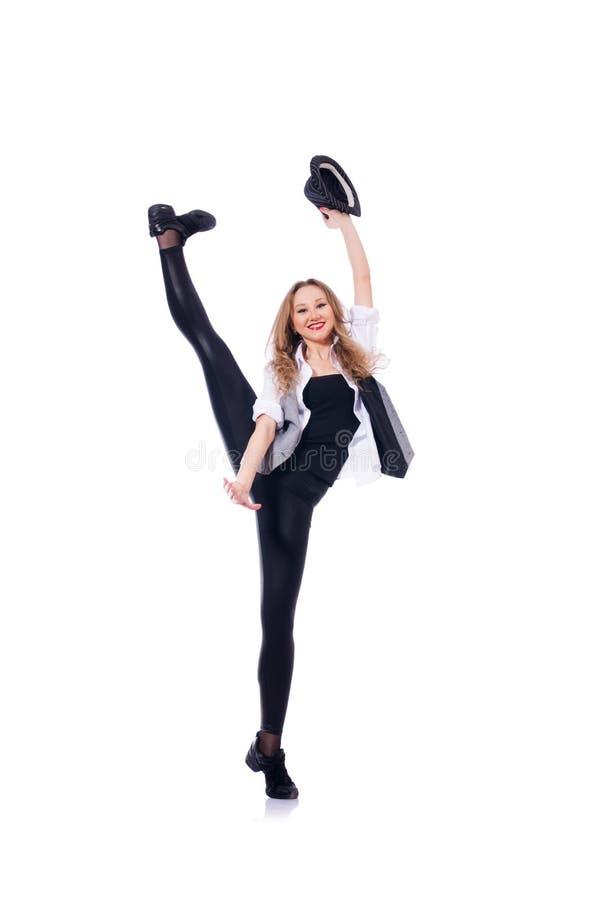 Danse de danseuse de femme photos libres de droits