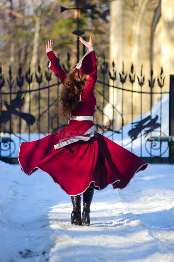 Danse de fille photos stock