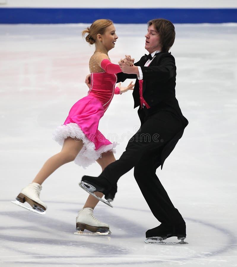 Danse de glace photos stock