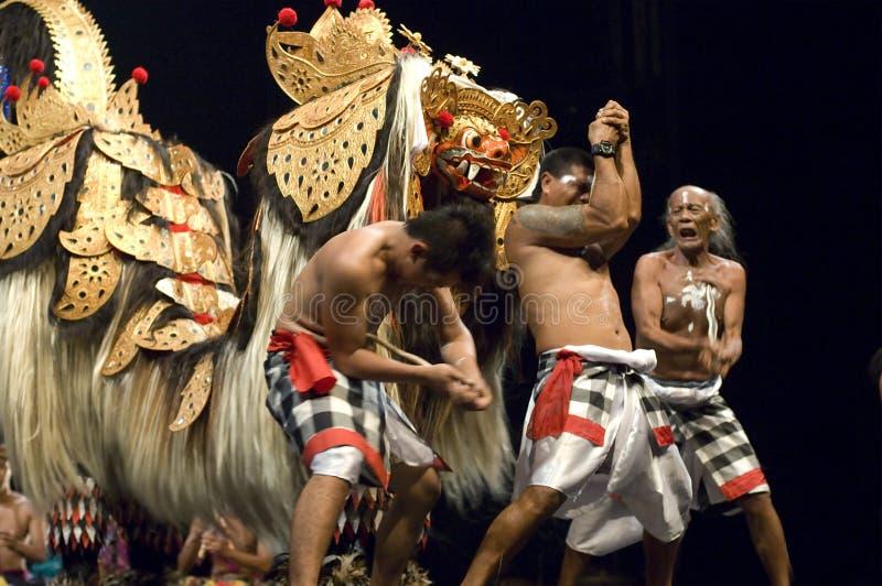 Danse de Keris photos stock