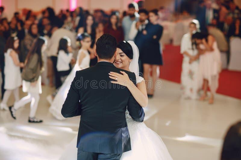 Danse de mariage photo stock