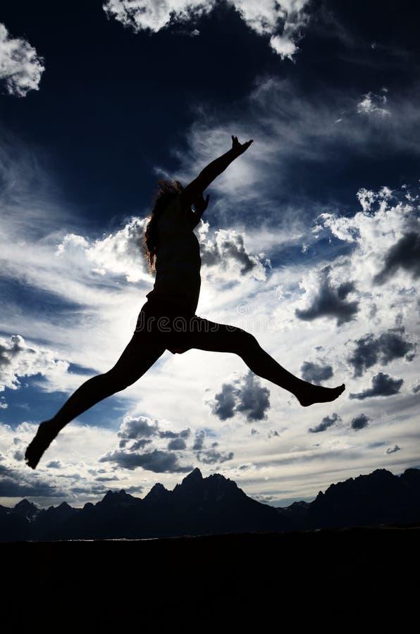 Danse de montagne photo libre de droits