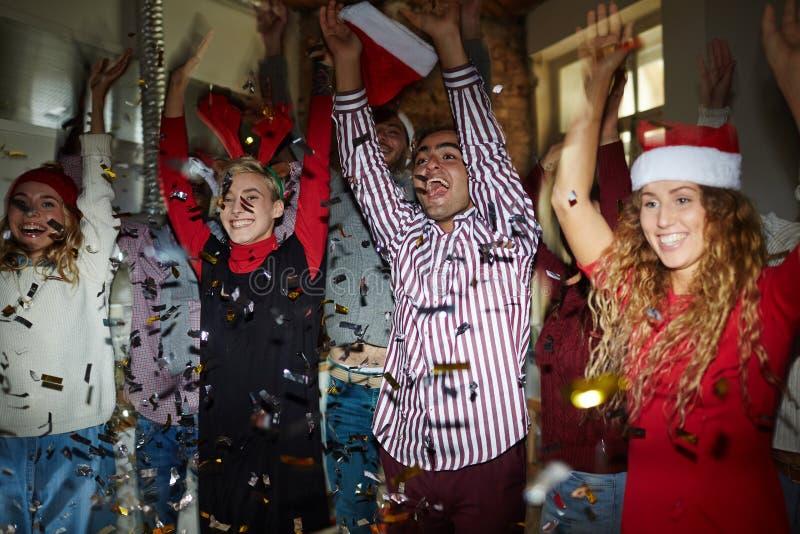Danse de Noël photographie stock libre de droits