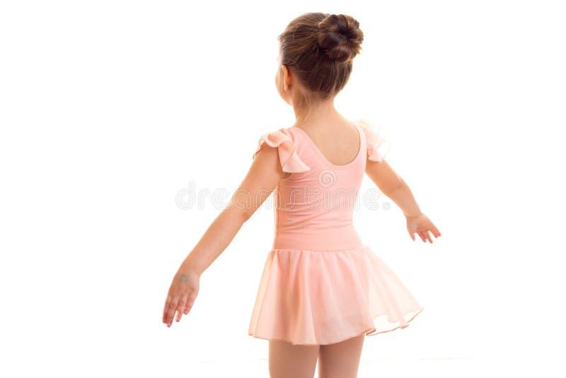 Danse de petite fille photo libre de droits