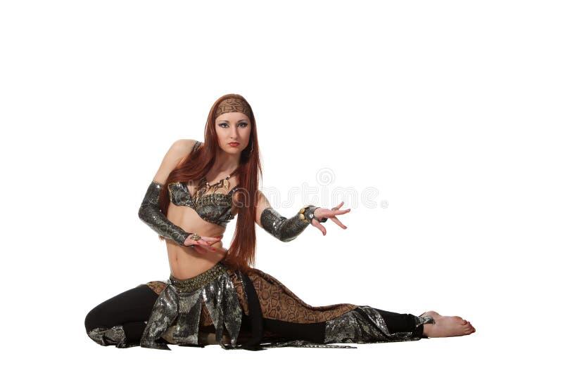 Danse de serpent photo libre de droits