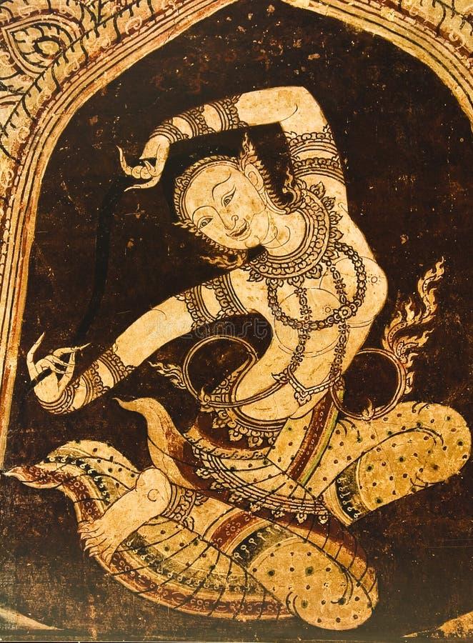 Danse féerique image libre de droits