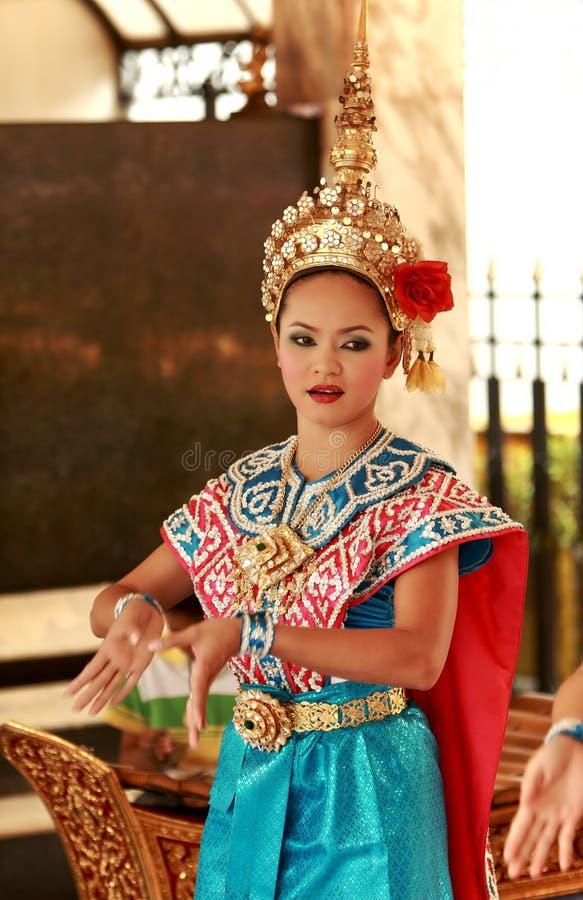 Danse folklorique, Bangkok, Thaïlande image libre de droits
