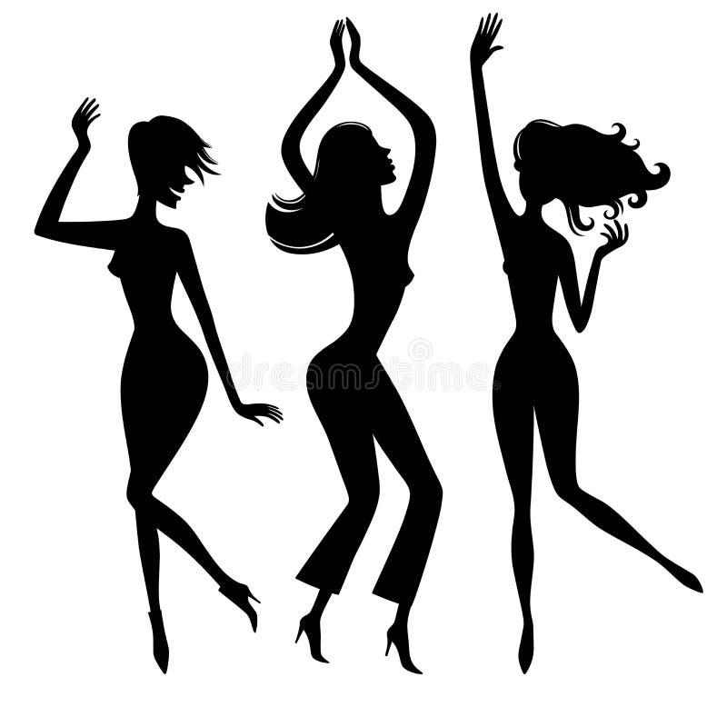 Danse girl7 illustration de vecteur