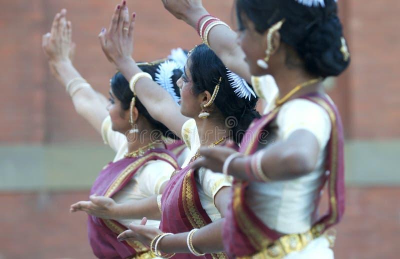 Danse indienne de Kathak photographie stock libre de droits