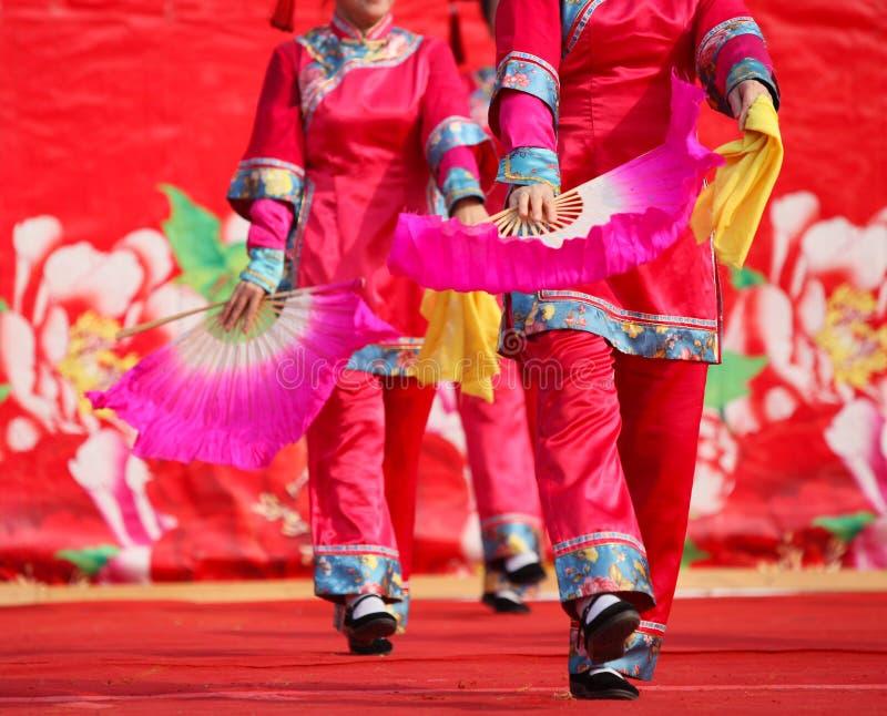Danse la nouvelle année chinoise photo stock