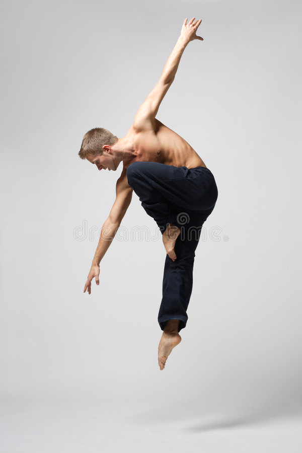 danse moderne photographie stock