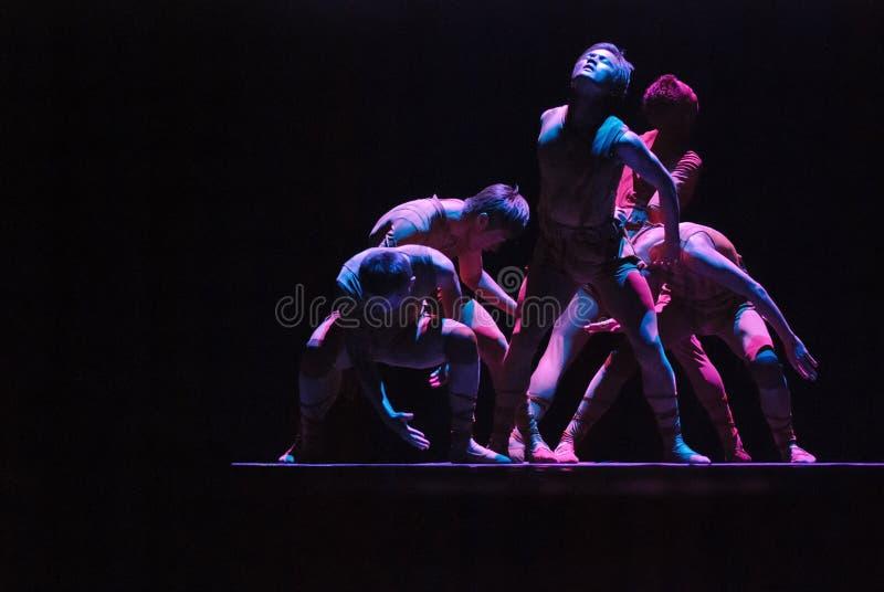 Danse moderne chinoise   photo libre de droits