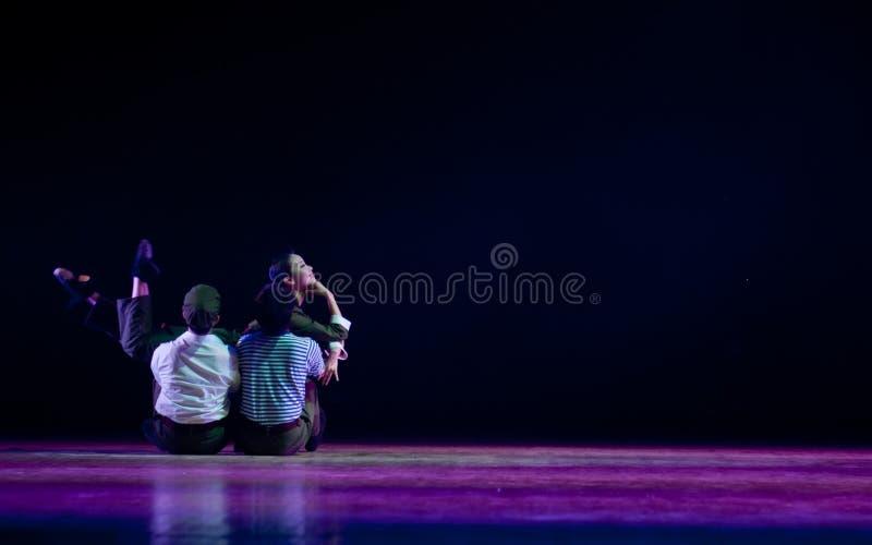 Danse moderne : jeunesse de la connaissance photo libre de droits