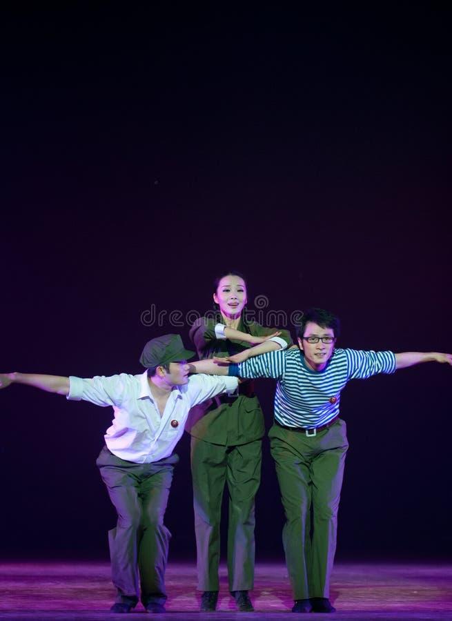 Danse moderne : jeunesse de la connaissance images stock