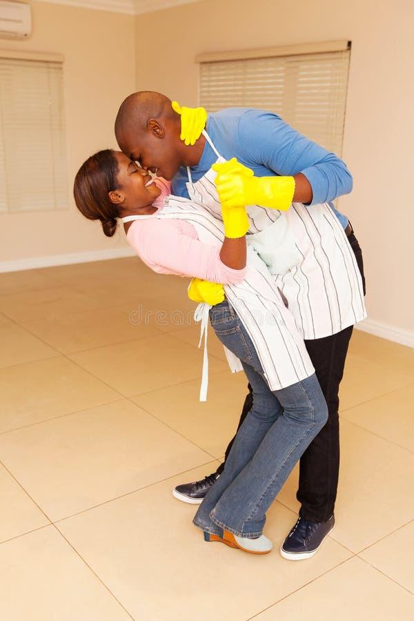 danse noire de couples photos libres de droits