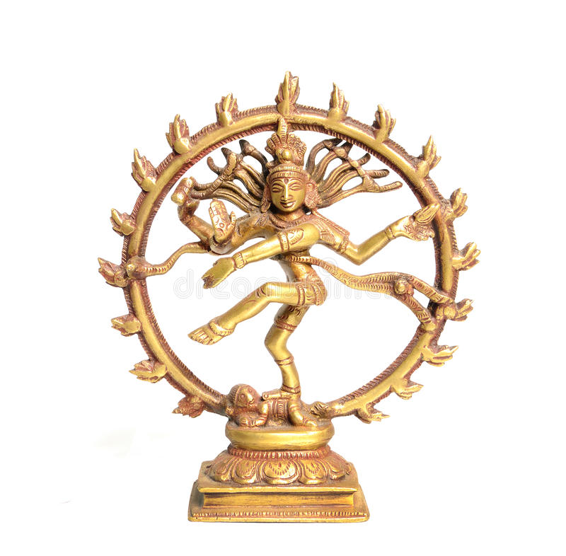 Danse Shiva images libres de droits