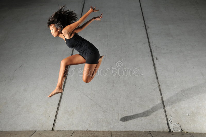Danse souterraine 34 image stock